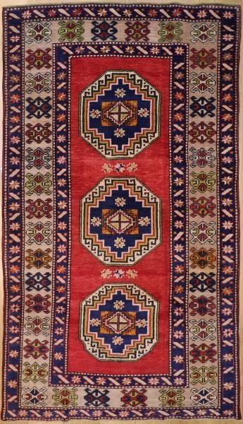 R7890 Hand Woven Vintage Anatolian Rug