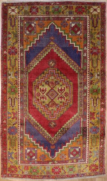 R7891 Hand Woven Vintage Anatolian Rug