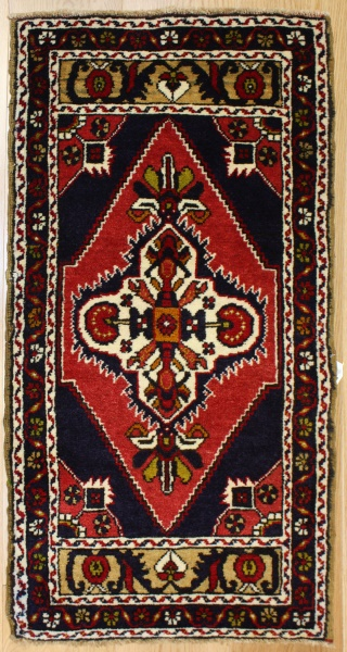 Hand Woven Vintage Turkish Rugs R7913