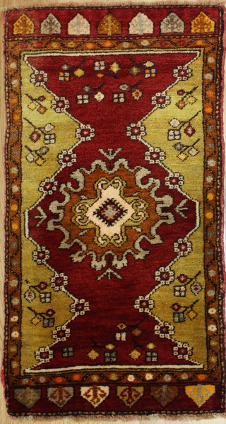 Hand Woven Vintage Turkish Rugs R7914