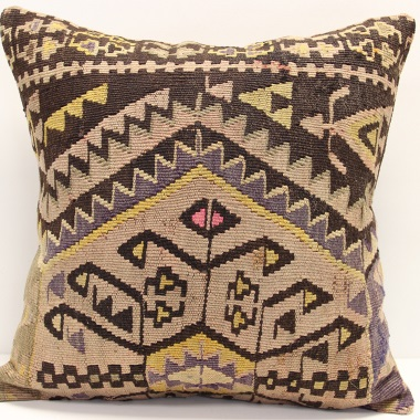 L408 Handmade Afghan Kilim Cushion Cover