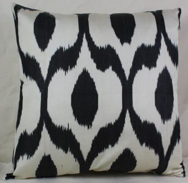i4 Handmade ikat pillow cover