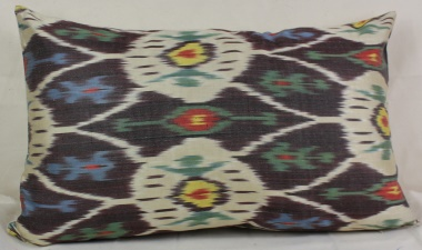 i50 Handmade ikat pillow cover
