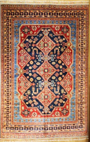 R9348 Handmade Kazak Carpet