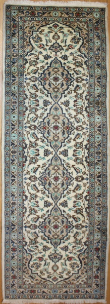 Handmade Persian Nain Carpet Runner R7980