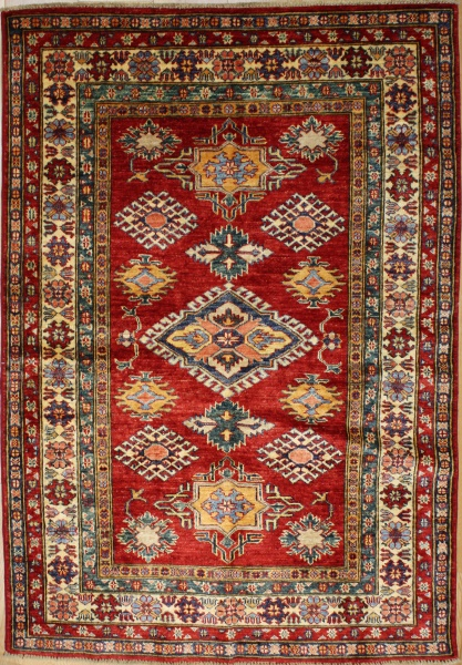 R8839 Handmade Transitional Kazak Rugs