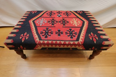 Whether You Are Looking For Beautiful Handmade Turkish Kilim Coffee Table Ottomans R7595