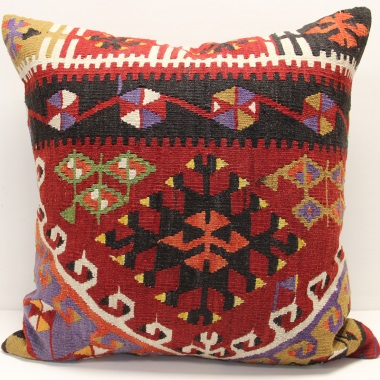 Handmade Turkish Kilim Pillow Cover XL339