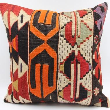 L664 Handmade Turkish Kilim Pillow Cushion Cover