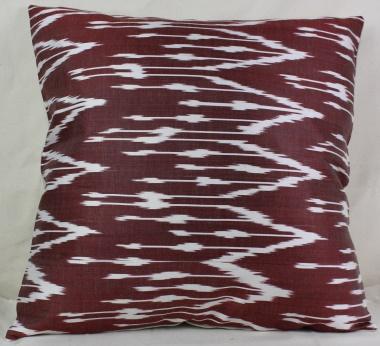 i18 Ikat cushion cover