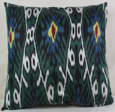 i32 Ikat cushion cover