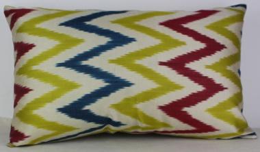 i44 Ikat cushion cover