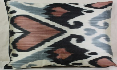 i48 Ikat Handwoven Decorative Pillow Cushion Cover