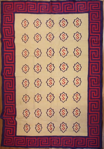 Indian Dhurrie Kilim Rug London R7557