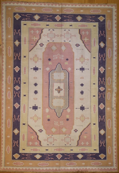 R7638 Indian Dhurrie Kilim Rugs