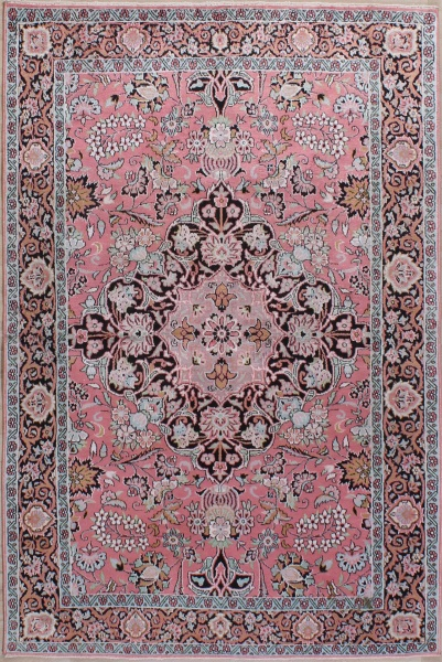 R8628 Indian Kashmir silk Carpets