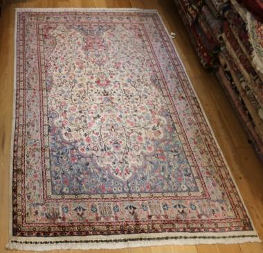 Indian Kashmir silk Carpets R9035