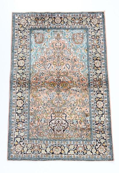 R8674 Indian silk Carpets