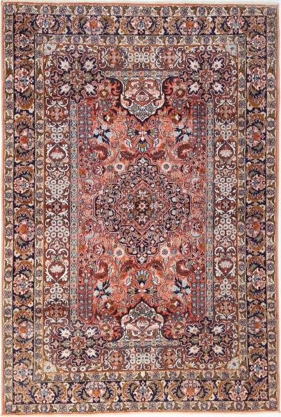 R7435 Indian Silk Kashmir Carpet