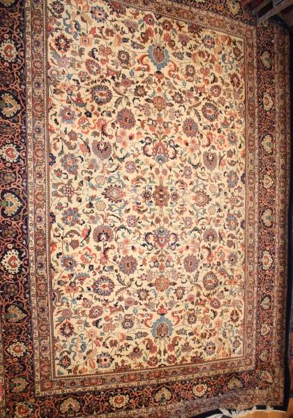 R6062 Fine Persian Kashan Carpet