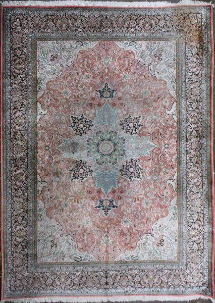 R7406 Kashmir silk carpets