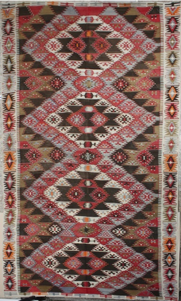 R4612 Antique Kayseri Kilim Rug