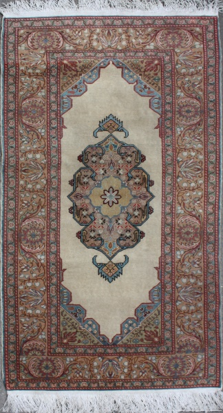 R6894 Kayseri Silk and Wool Rug
