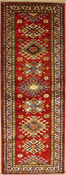 R8825 Kazak Traditional Wool Hallway Runners