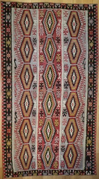 R6398 Kilim Flat Woven Rug
