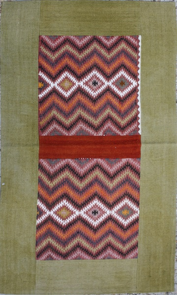R1727 Beautiful Anatolian Kilim Patchwork