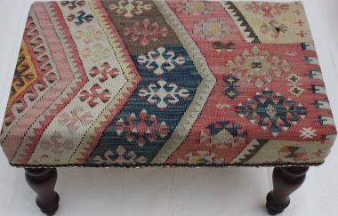 R5297 Kilim Stool Table