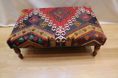 R3997 Kilim Stool Table