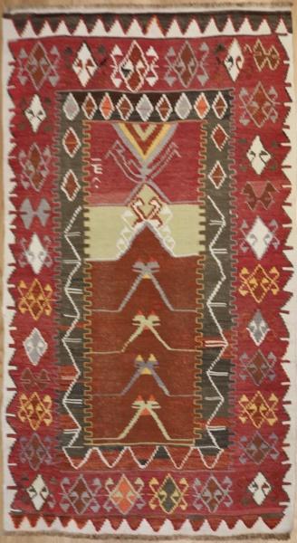 R3561 Konya Kilim Rug