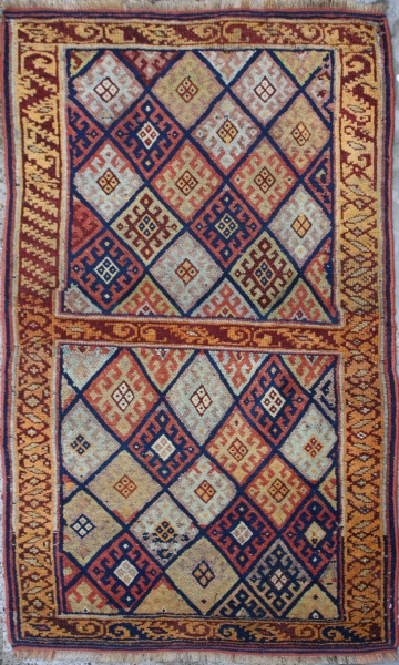 R1292 Kurd Antique Rug