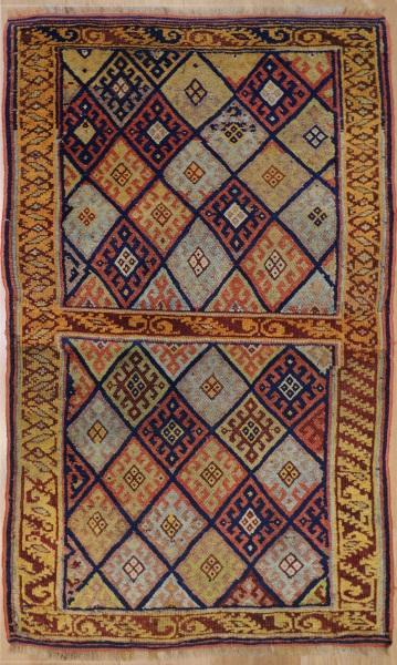 R1292 Kurdish Antique Rug