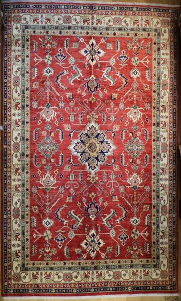 R9336 Large Afghan Kazak Carpet