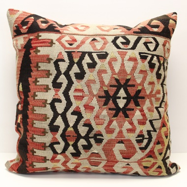 XL429 Large Anatolian Kilim Cushion Cover