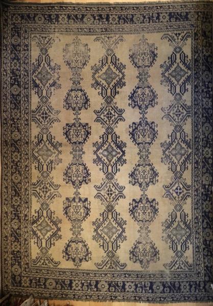 Large Antique Turkish Ushak Carpet R3373