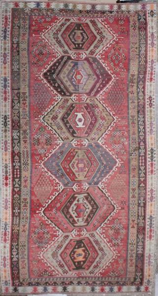 R6384 Large Kilim