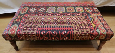 R5202 Large Ottoman Kilim Table Stools