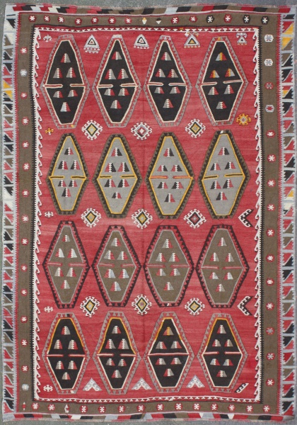 R5849 Large Over Size Kilim Rugs