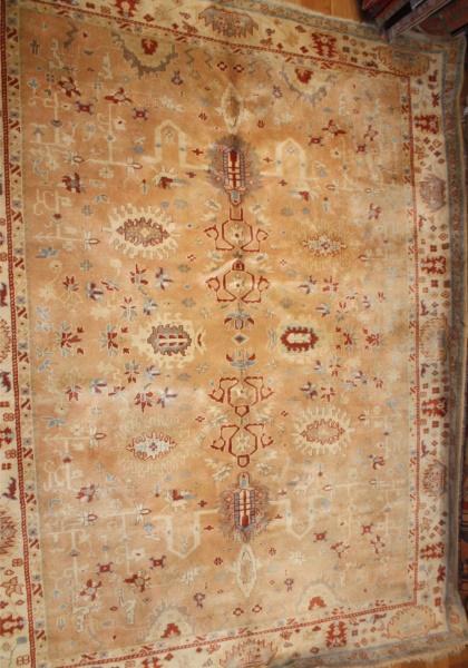 R6481 Large Turkish Ushak Carpet