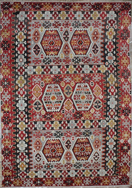 R6541 Large Turkish Kilim