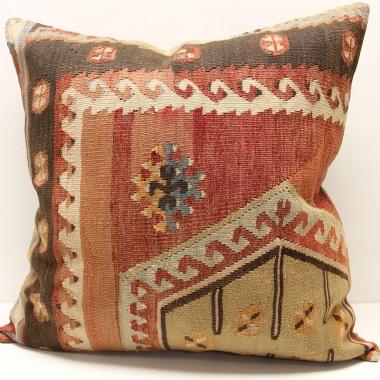 XL154 Large Turkish Kilim Cushion Cover
