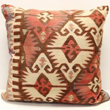 XL346 Large Turkish Kilim Cushion Cover