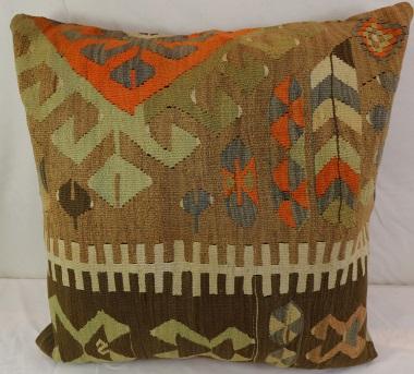 XL19 Large Turkish Kilim Cushion Cover