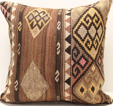 L622 Large Turkish Kilim Cushion Covers