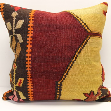 XL428 Large Turkish Kilim Cushion Covers