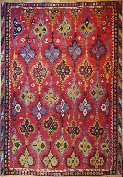 R7478 Large Turkish Kilim Rug