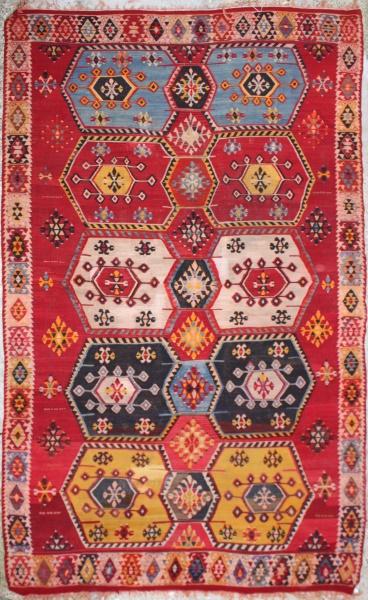 R6453 Large Turkish Kilim Rugs